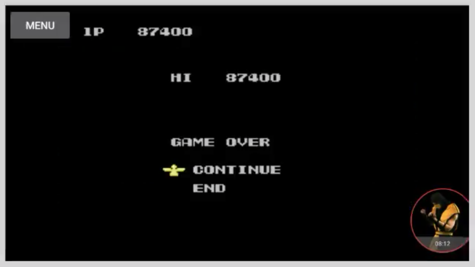 omargeddon: Probotector [1 Life] (NES/Famicom Emulated) 87,400 points on 2017-12-16 02:13:41