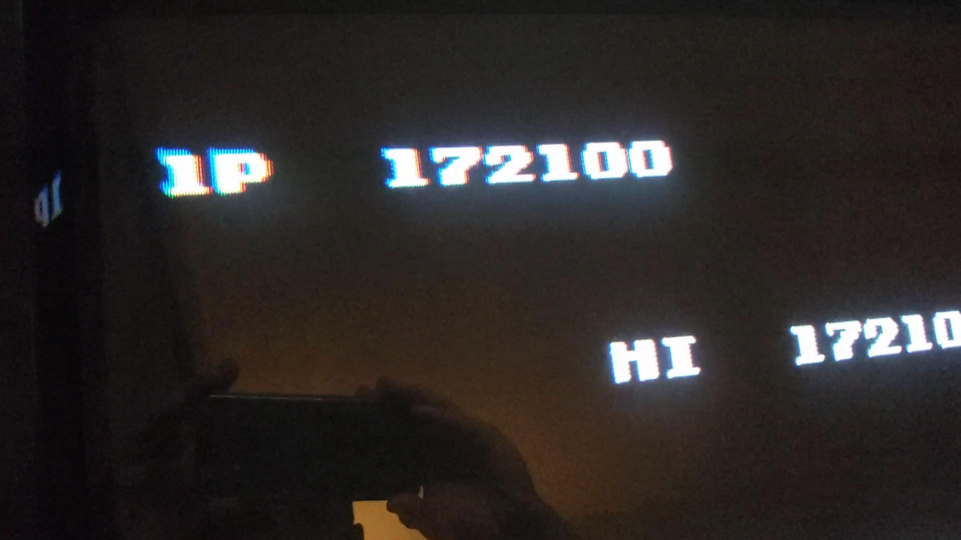 JES: Probotector [1 Life] (NES/Famicom Emulated) 172,100 points on 2020-07-03 01:12:40
