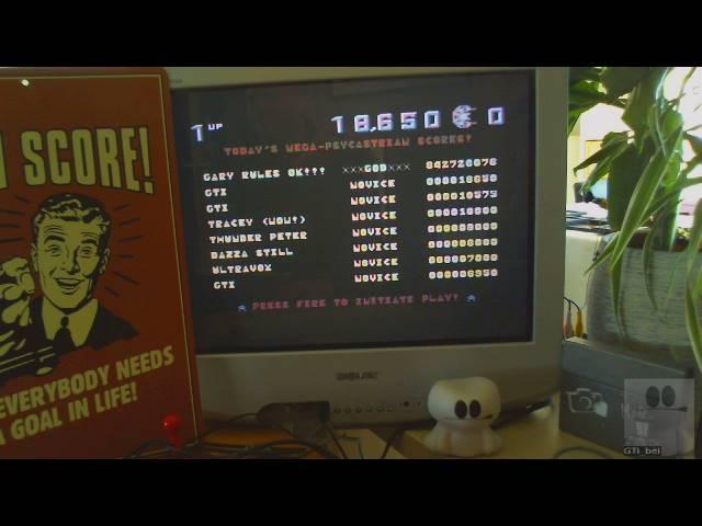 GTibel: Psycastria (Commodore 64) 18,650 points on 2019-02-15 06:09:49