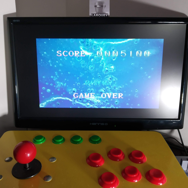 Larquey: Psycho Dream (SNES/Super Famicom Emulated) 5,100 points on 2020-08-25 04:17:06