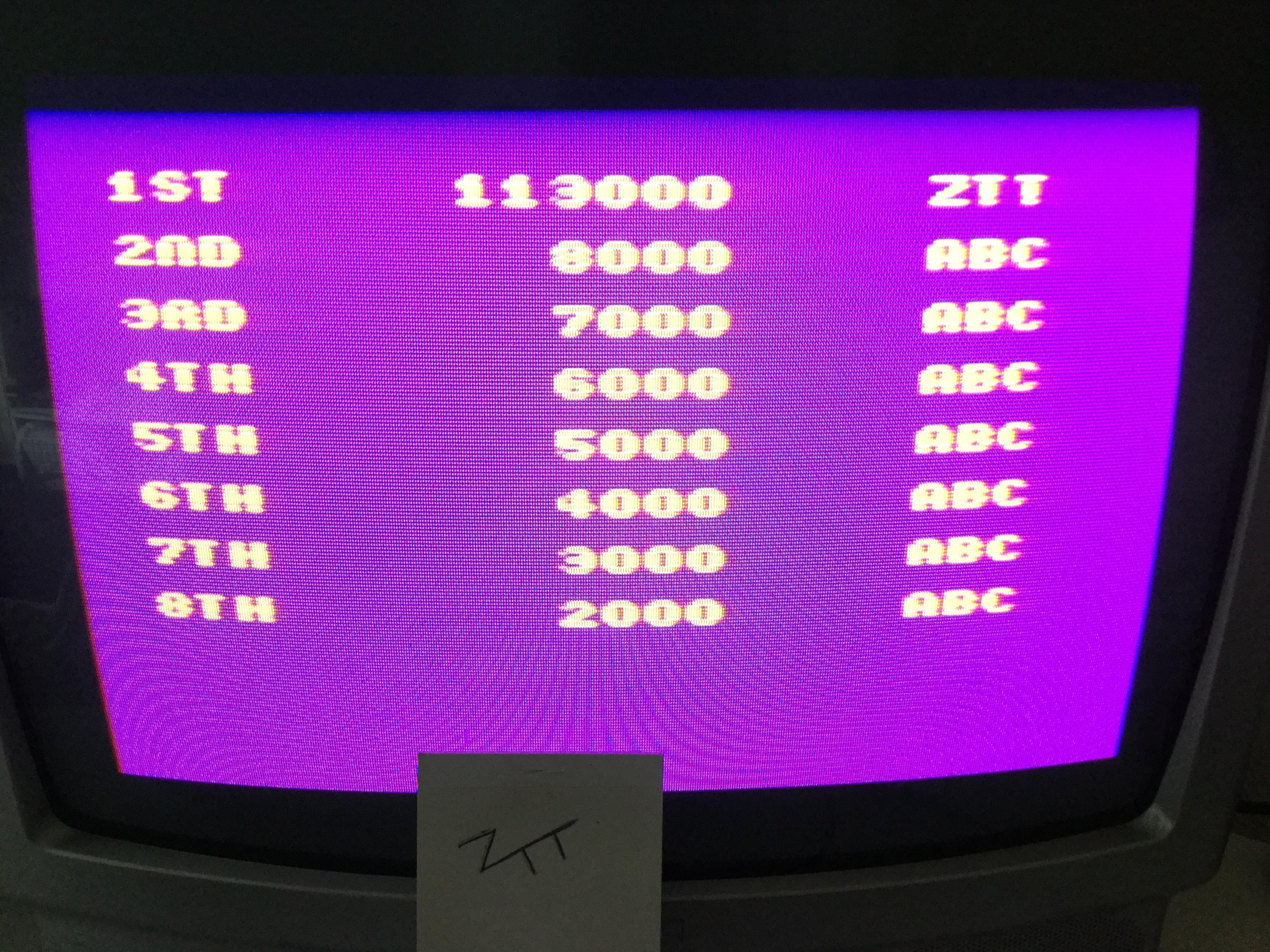 Frankie: Psycho Pigs U.X.B. (Amstrad CPC) 113,000 points on 2017-03-25 02:17:14