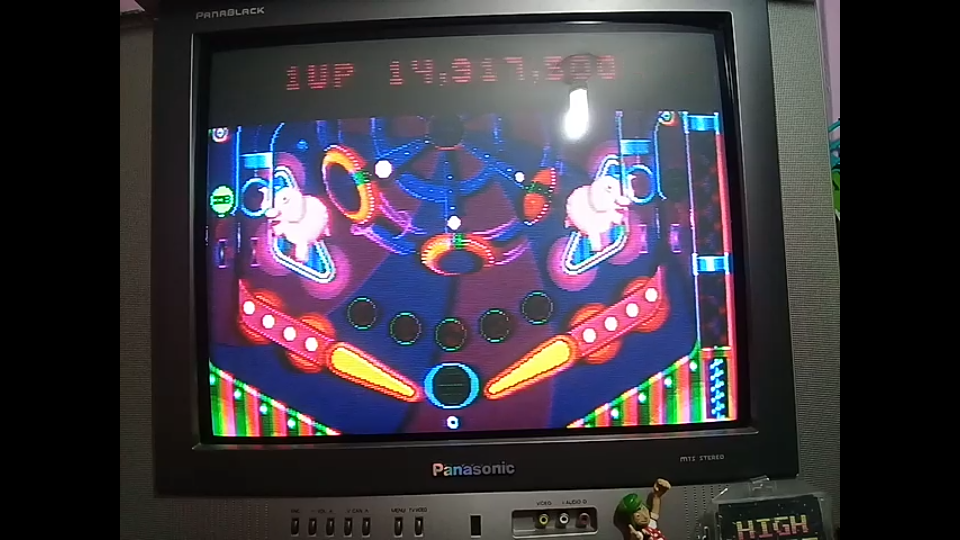 omargeddon: Psycho Pinball: Psycho [3 Balls/Normal/Game Speed: Normal] (Sega Genesis / MegaDrive) 14,917,500 points on 2018-12-30 23:03:07