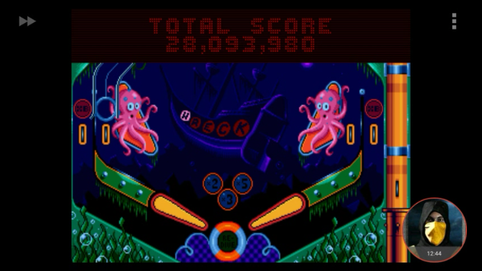 omargeddon: Psycho Pinball: The Abyss [3 Balls/Normal/Game Speed: Normal] (Sega Genesis / MegaDrive Emulated) 28,093,980 points on 2018-03-07 11:31:07