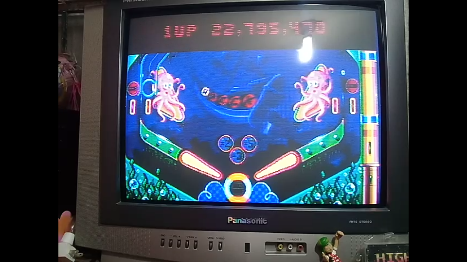 omargeddon: Psycho Pinball: The Abyss [3 Balls/Normal/Game Speed: Normal] (Sega Genesis / MegaDrive) 22,795,470 points on 2018-12-31 01:18:25