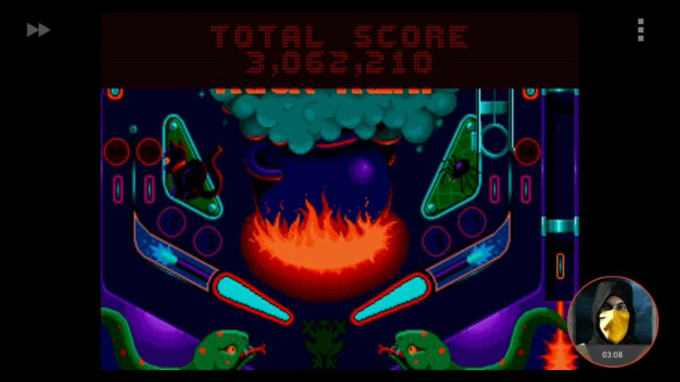 omargeddon: Psycho Pinball: Trick Or Treat [3 Balls/Normal/Game Speed: Normal] (Sega Genesis / MegaDrive Emulated) 3,062,210 points on 2018-03-07 10:58:18