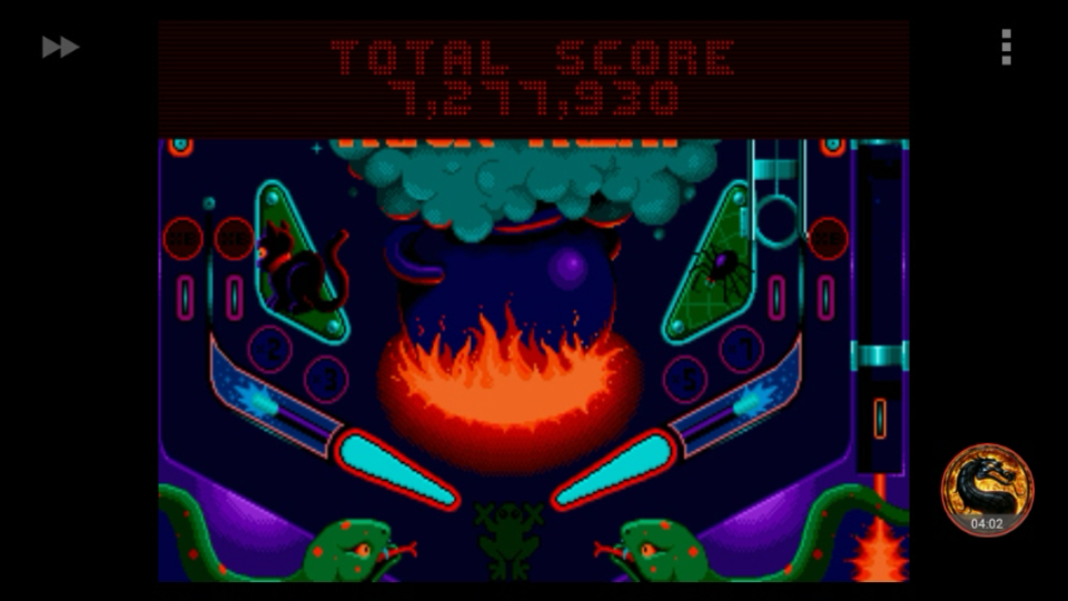 Psycho Pinball: Trick Or Treat [3 Balls/Normal/Game Speed: Normal] 7,277,930 points