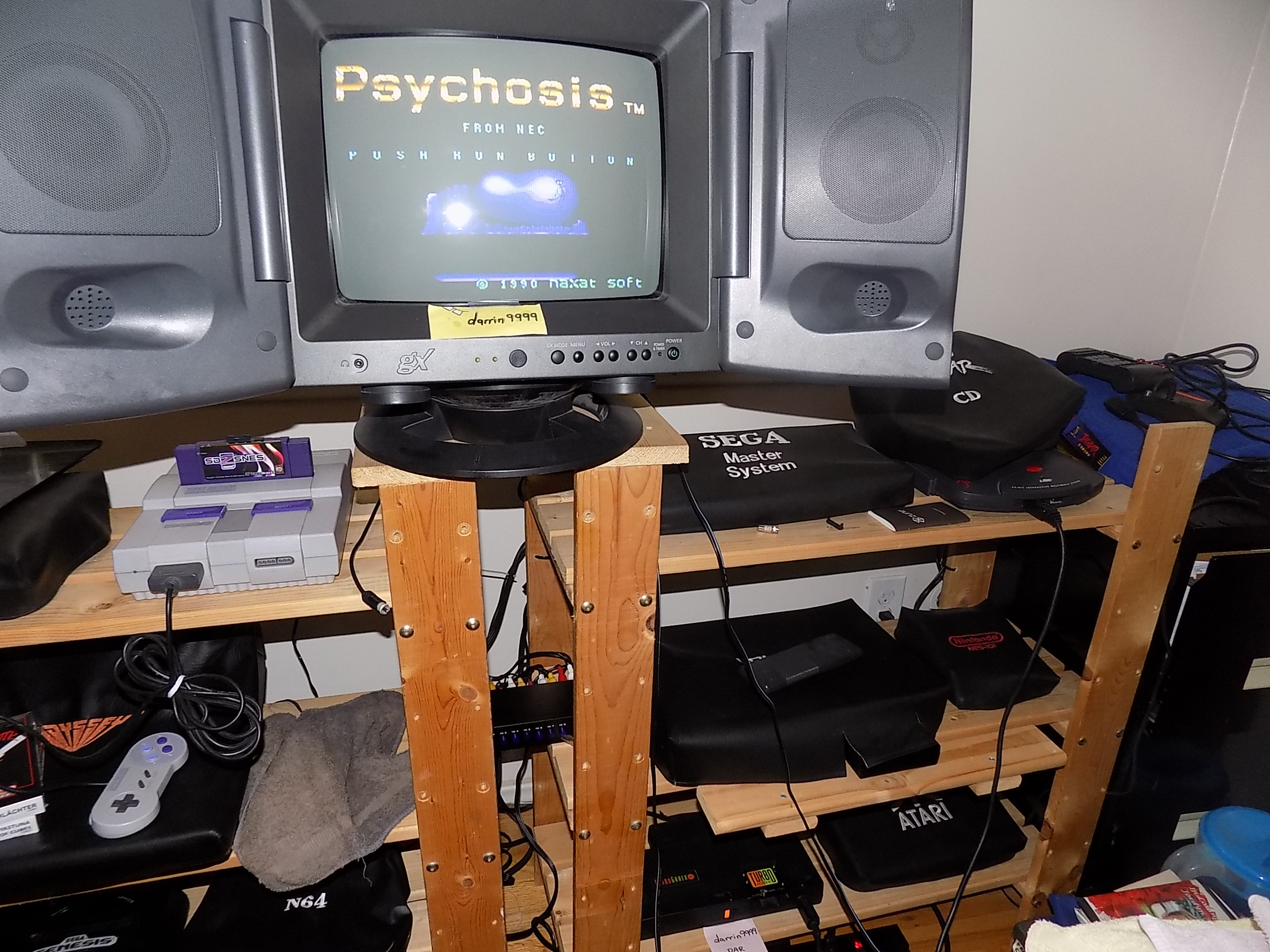 darrin9999: Psychosis (TurboGrafx-16/PC Engine) 58,100 points on 2019-01-13 13:05:44