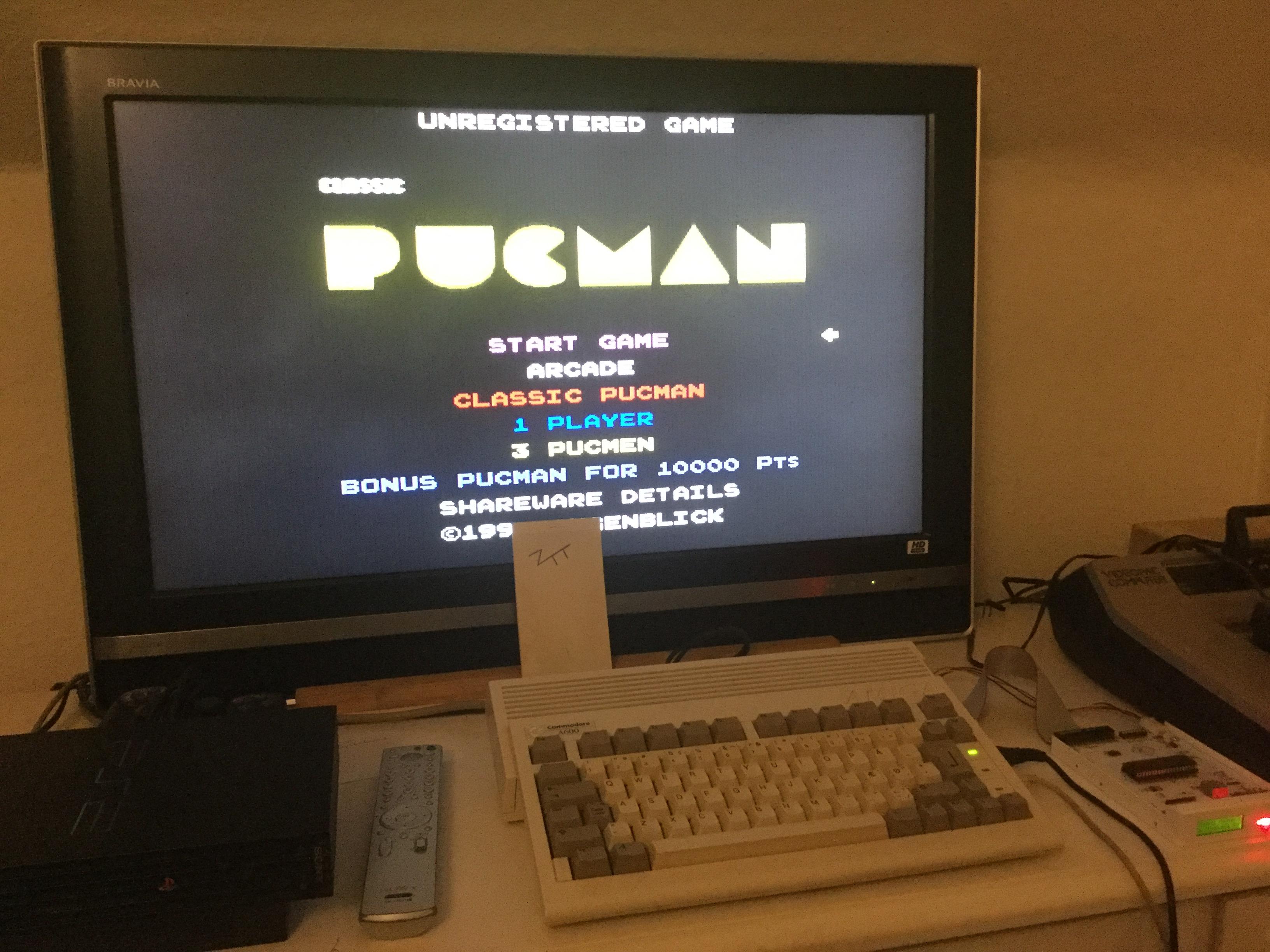 Frankie: PucMan (Amiga) 13,910 points on 2017-11-02 12:23:05