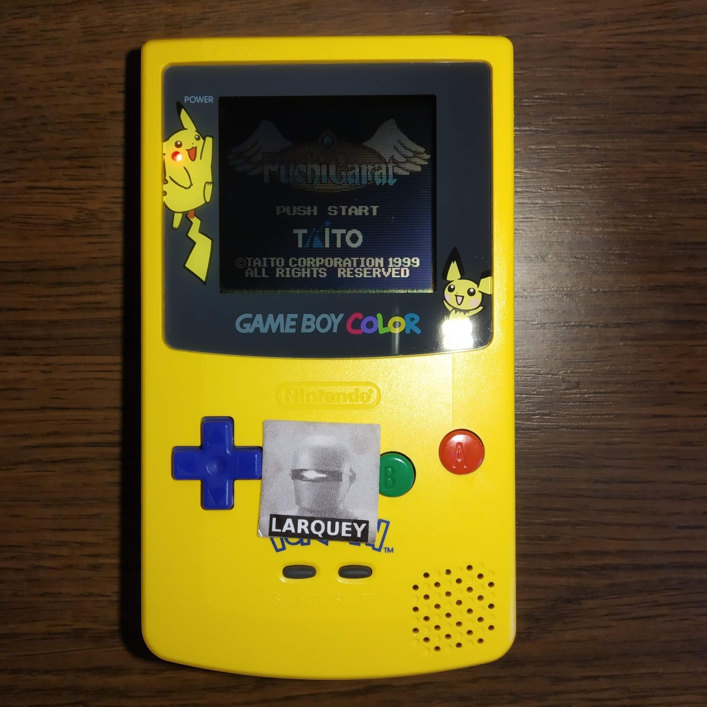 Larquey: Puchi Carat (Game Boy Color) 2,107,980 points on 2020-07-12 03:12:39