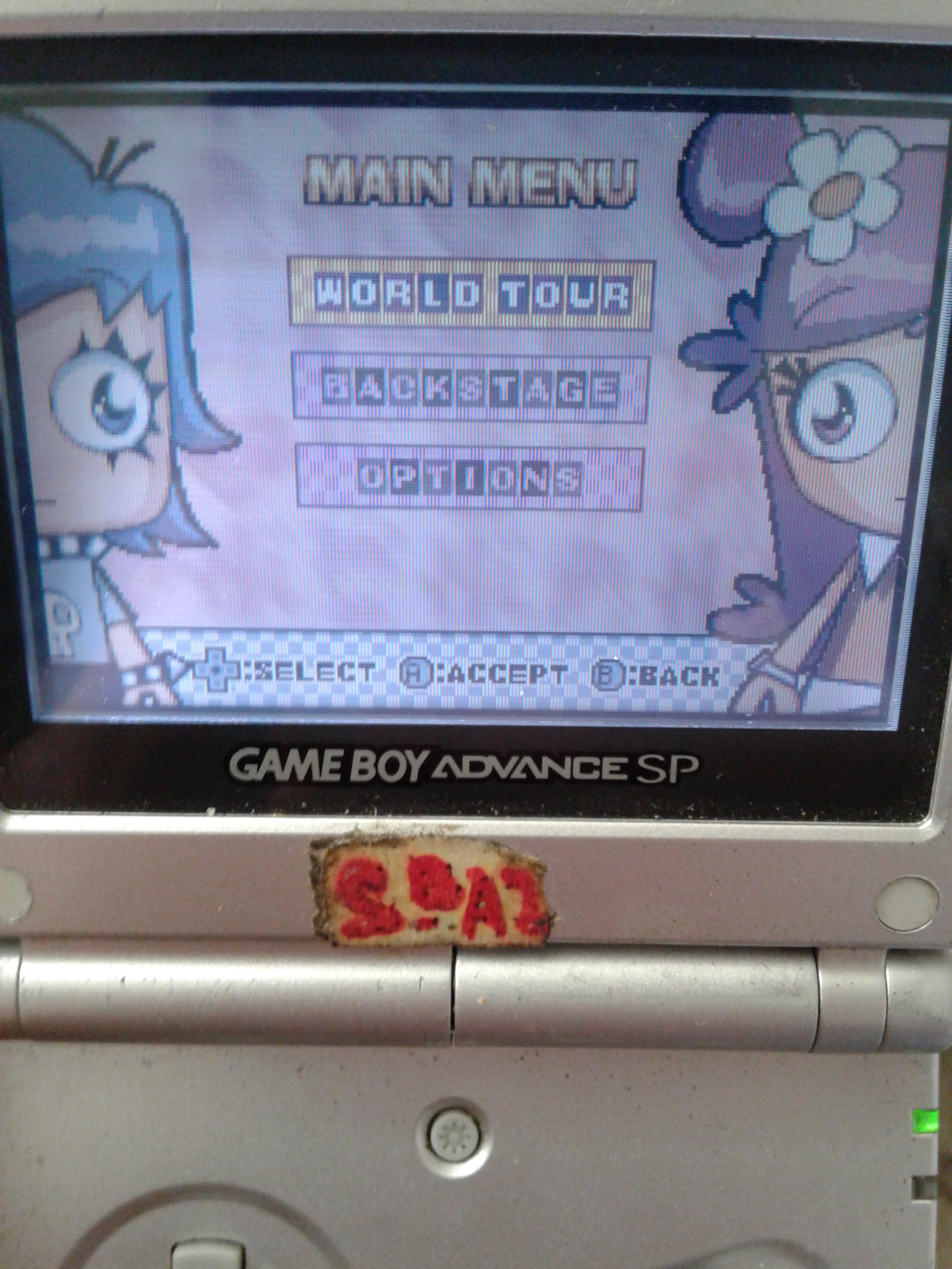 S.BAZ: Puffy Amiyumi: Kaznapped! [World Tour: Easy] (GBA) 10,070 points on 2020-06-03 15:10:49