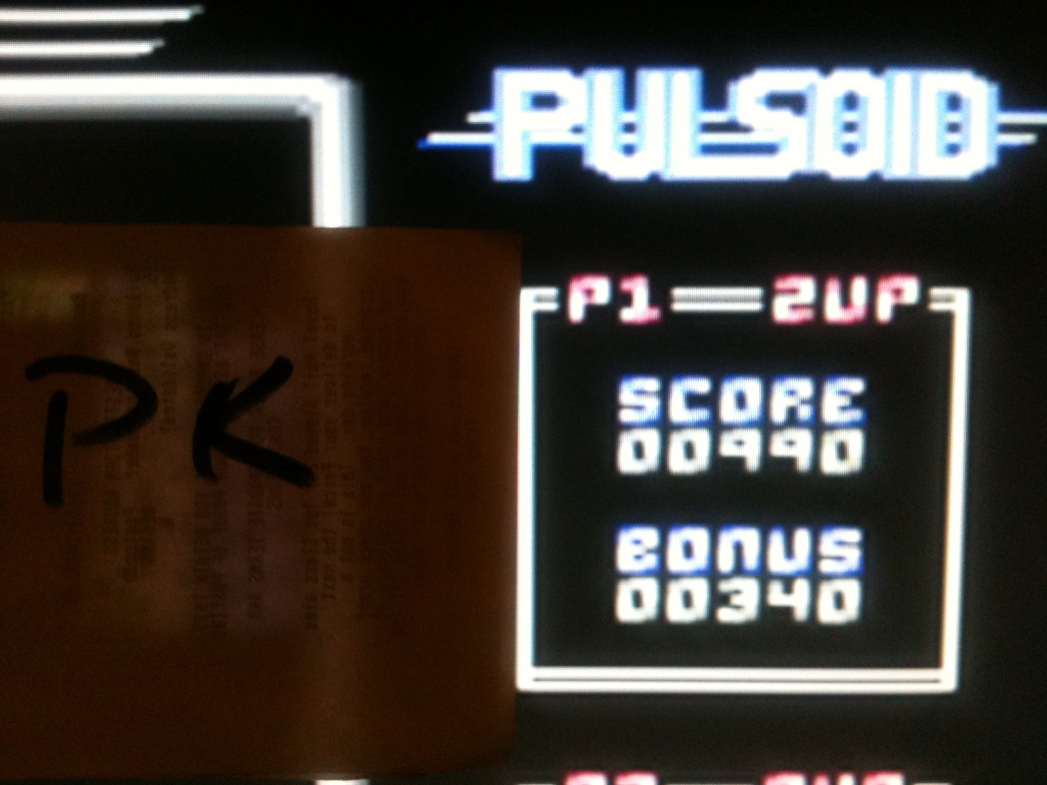 kernzy: Pulsoid (Commodore 64 Emulated) 990 points on 2015-09-24 09:00:23