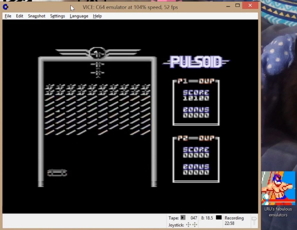 LuigiRuffolo: Pulsoid (Commodore 64 Emulated) 18,180 points on 2020-07-23 10:21:15