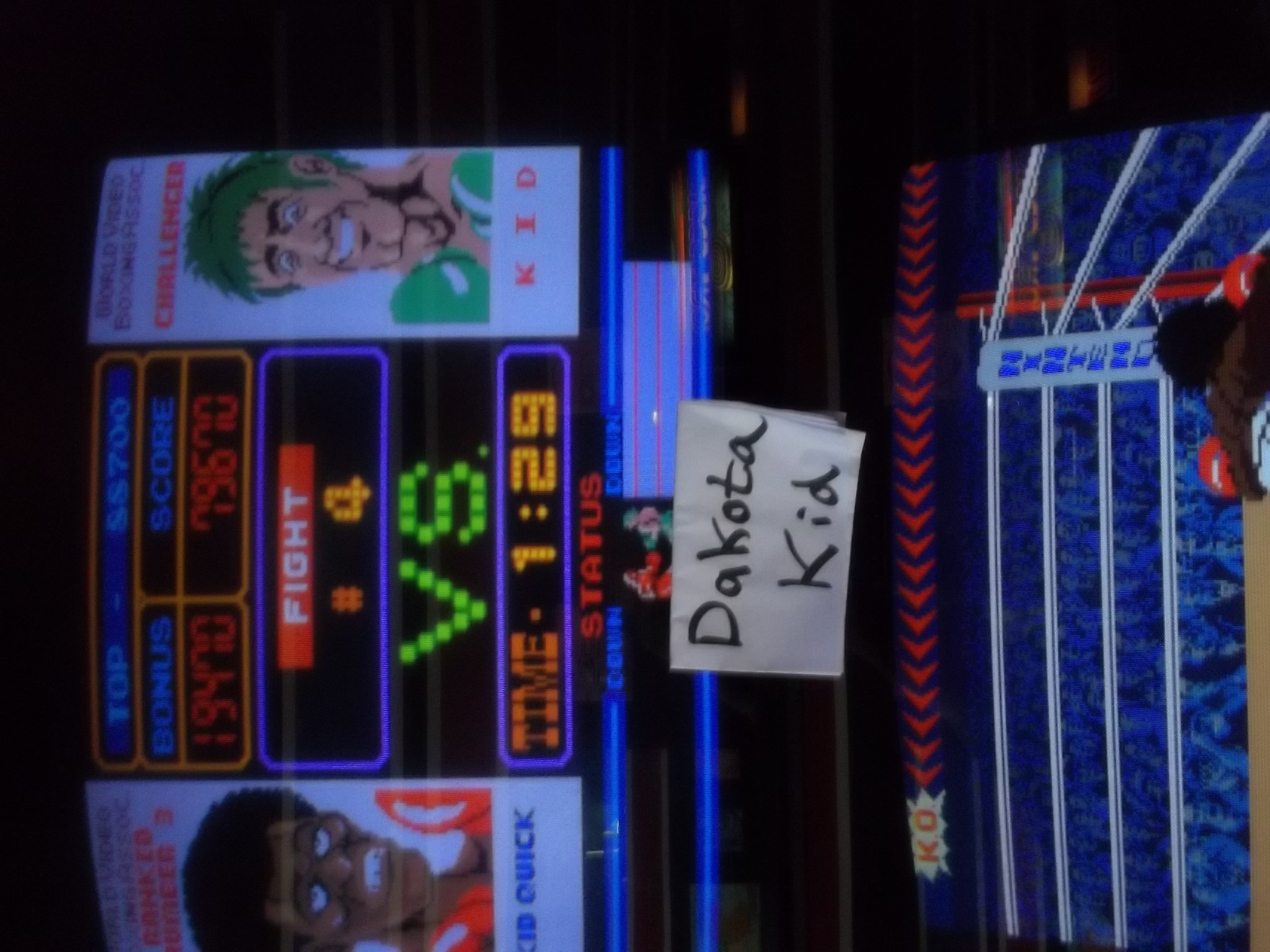 Punch Out 153,470 points
