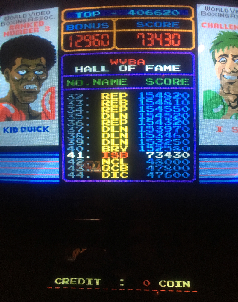 ILLSeaBass: Punch Out (Arcade) 73,430 points on 2017-05-31 20:36:13