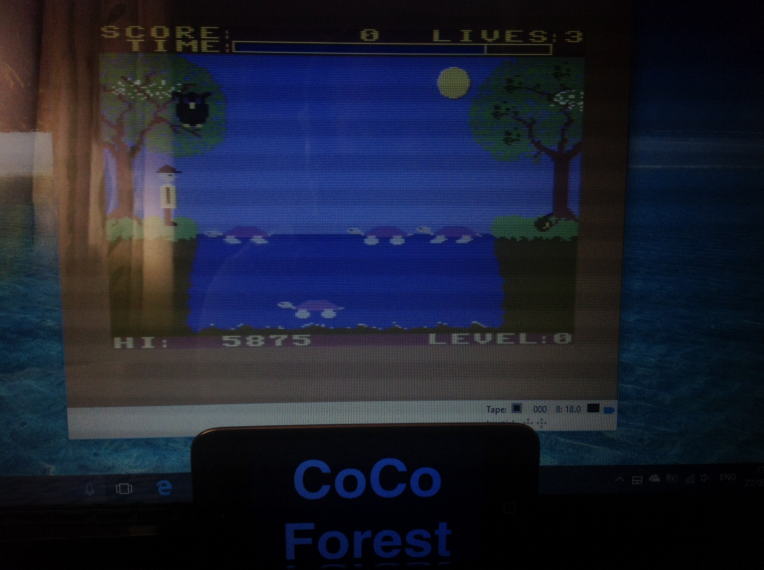 CoCoForest: Purple Turtle (Commodore 64 Emulated) 5,875 points on 2017-08-27 11:03:02