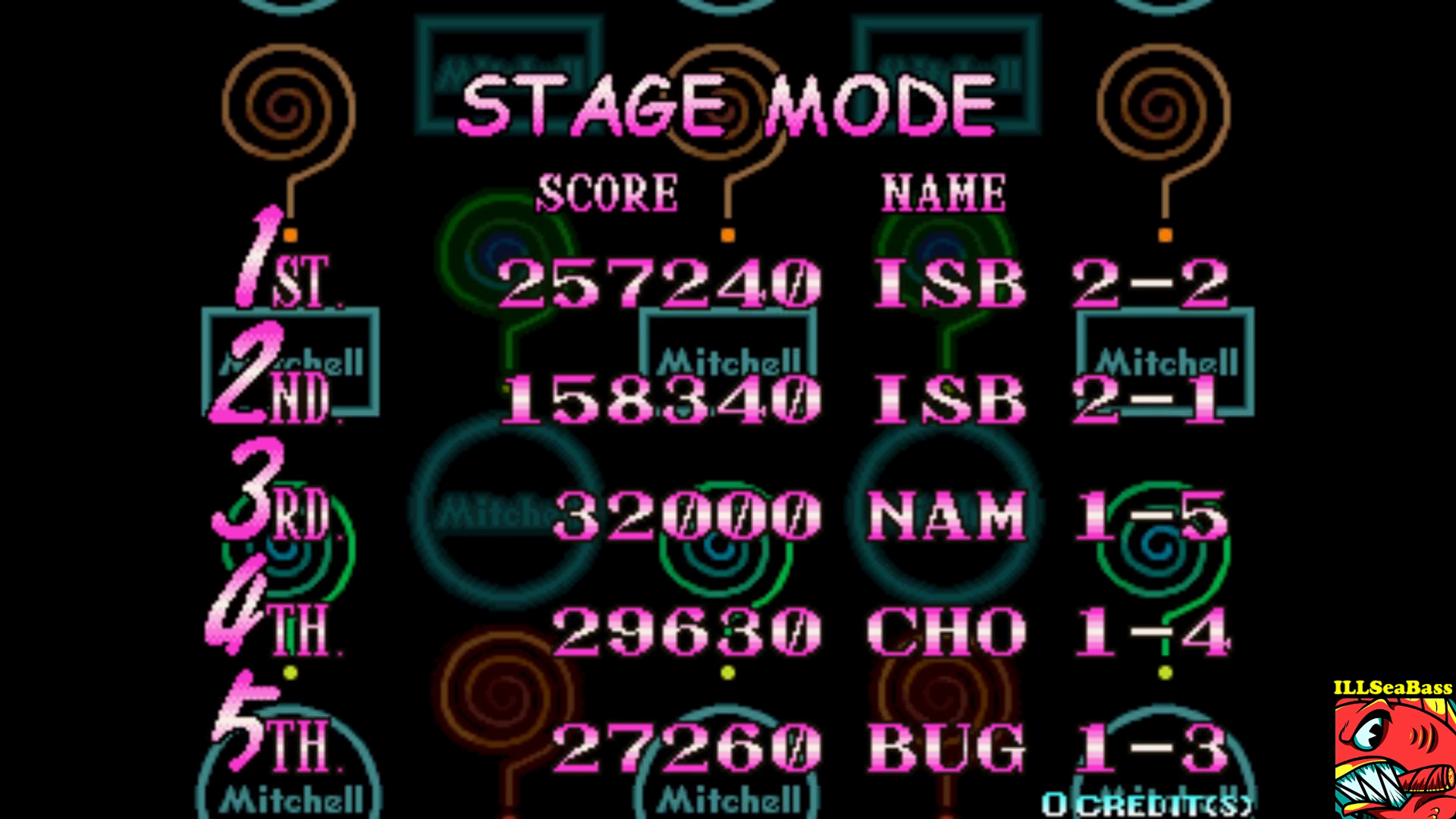 ILLSeaBass: Puzz Loop [Stage Mode] [puzzloop] (Arcade Emulated / M.A.M.E.) 257,240 points on 2017-09-17 20:47:32