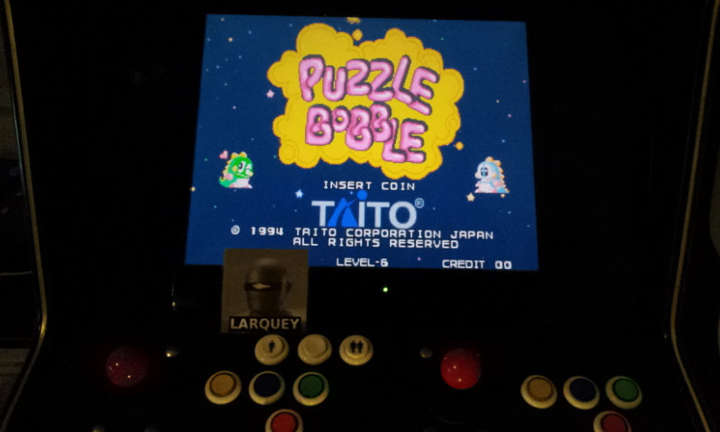 Larquey: Puzzle Bobble (Jamma Pandora