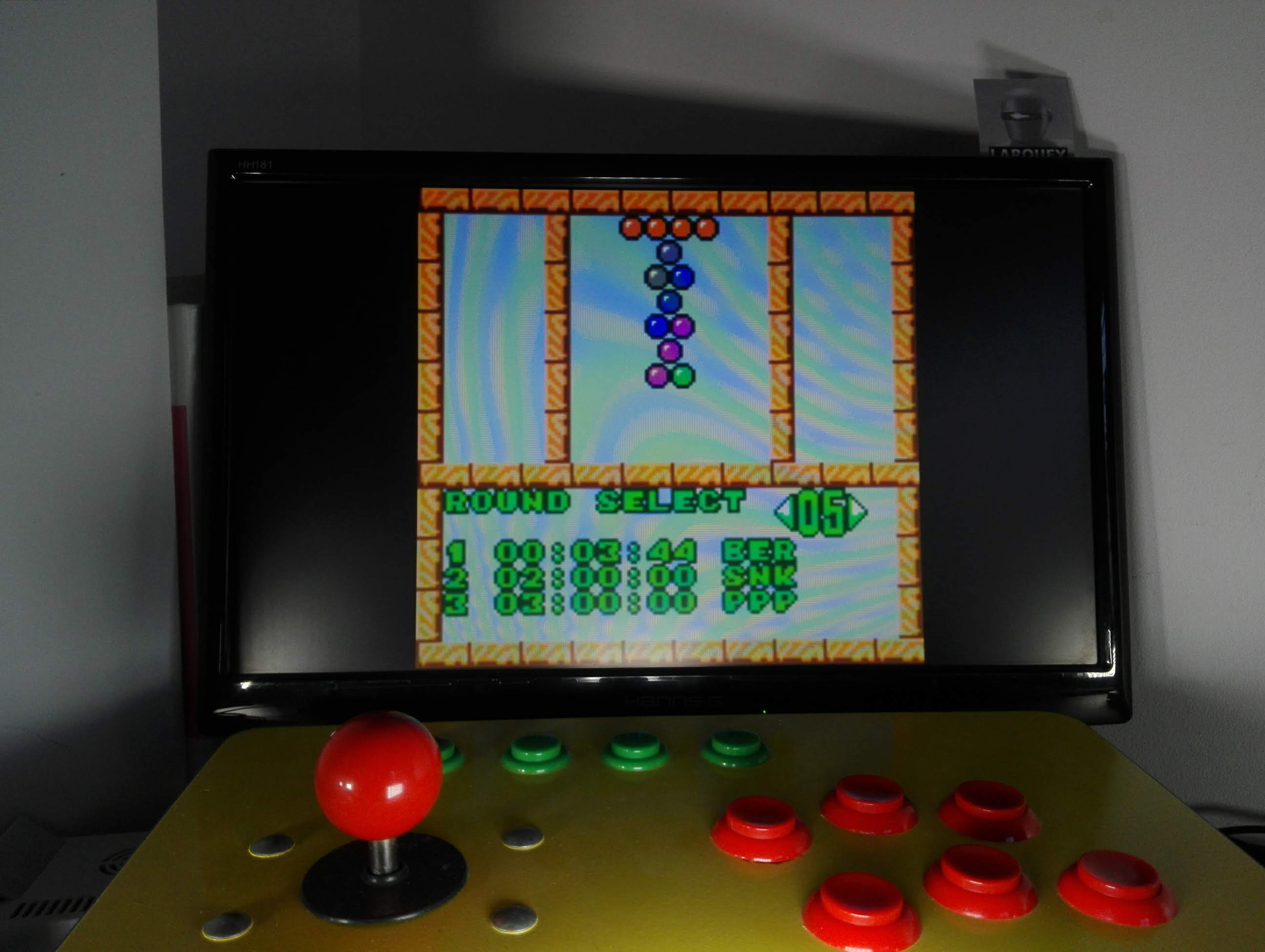 Larquey: Puzzle Bobble Mini: Puzzle [Round 05] (Neo Geo Pocket Color Emulated) 0:00:03.44 points on 2020-04-14 05:46:32