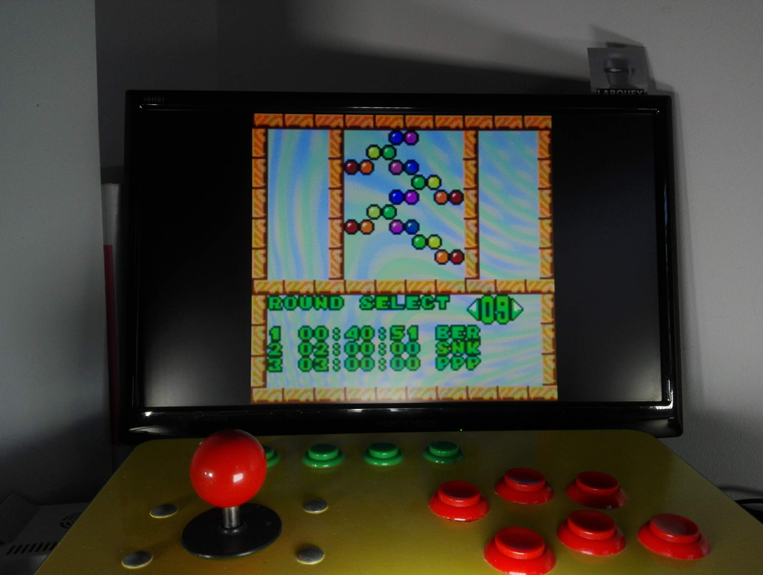 Larquey: Puzzle Bobble Mini: Puzzle [Round 09] (Neo Geo Pocket Color Emulated) 0:00:40.51 points on 2020-04-14 05:55:01