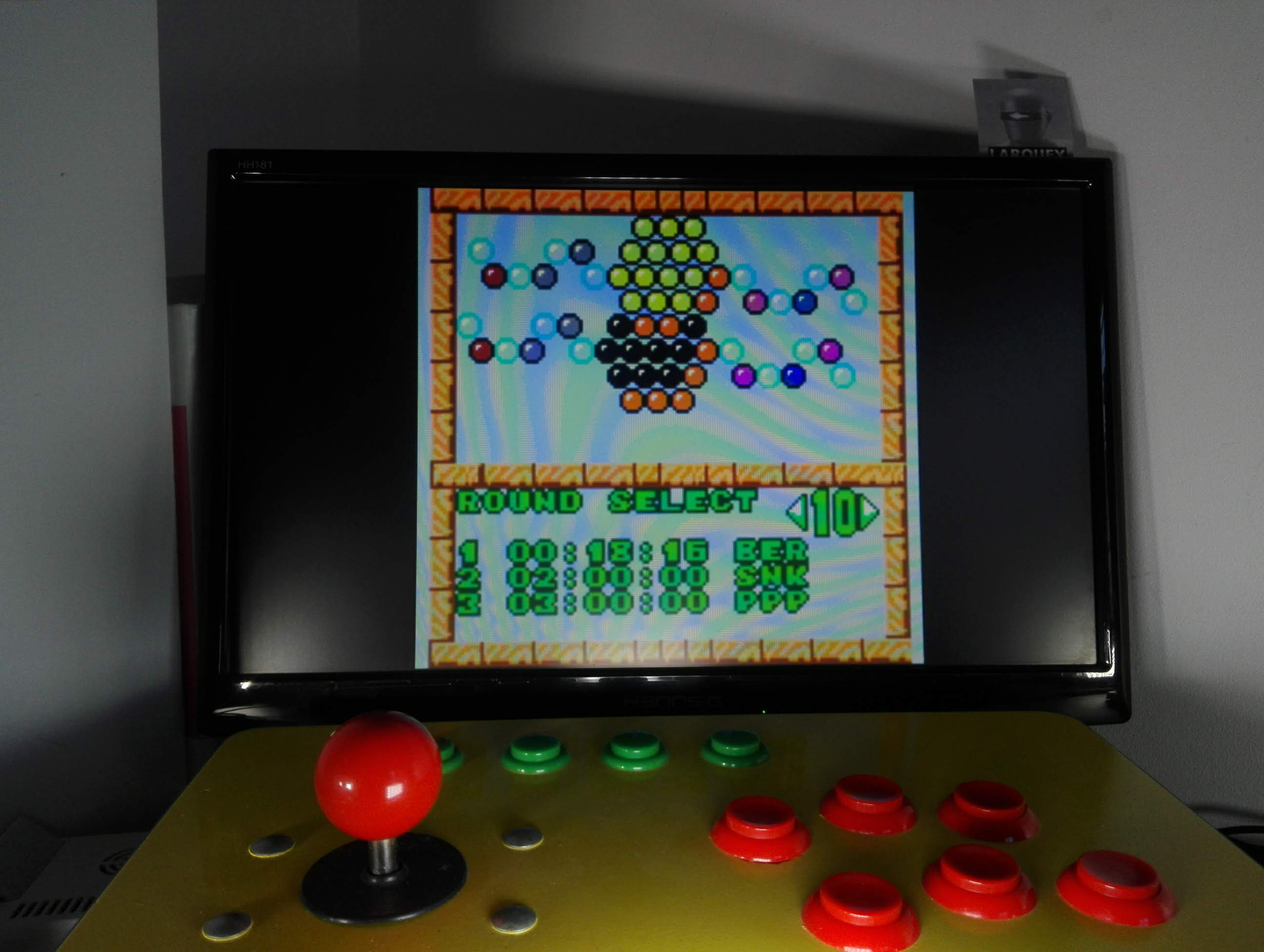 Larquey: Puzzle Bobble Mini: Puzzle [Round 10] (Neo Geo Pocket Color Emulated) 0:00:18.16 points on 2020-04-14 06:00:41