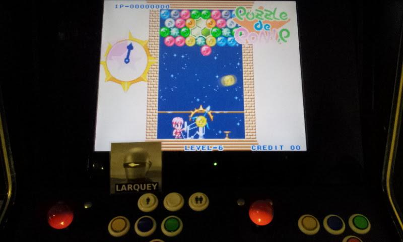 Larquey: Puzzle De Pon! R (Jamma Pandora