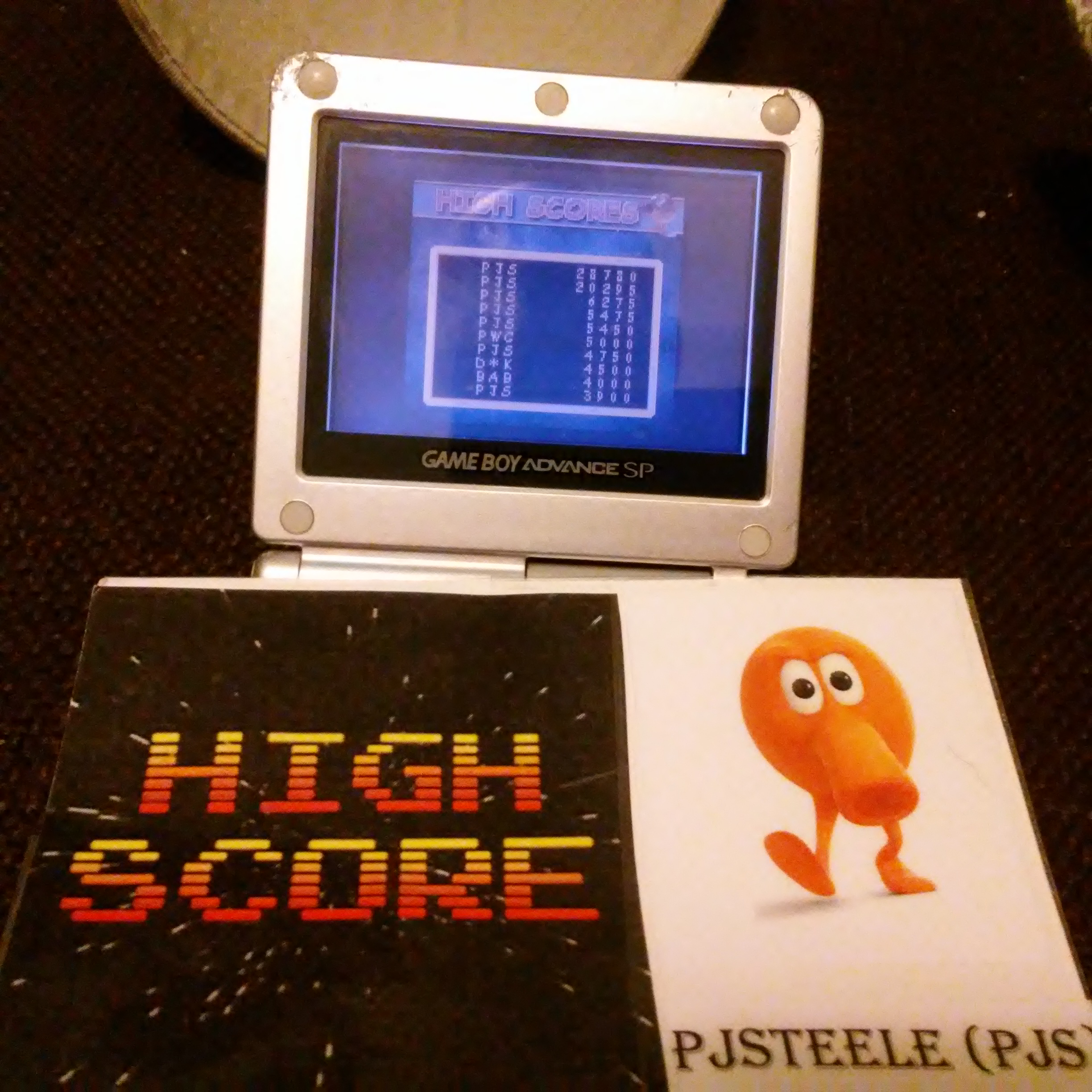 Pjsteele: Q*Bert: Arcade (Game Boy Color) 28,780 points on 2017-06-07 22:13:17