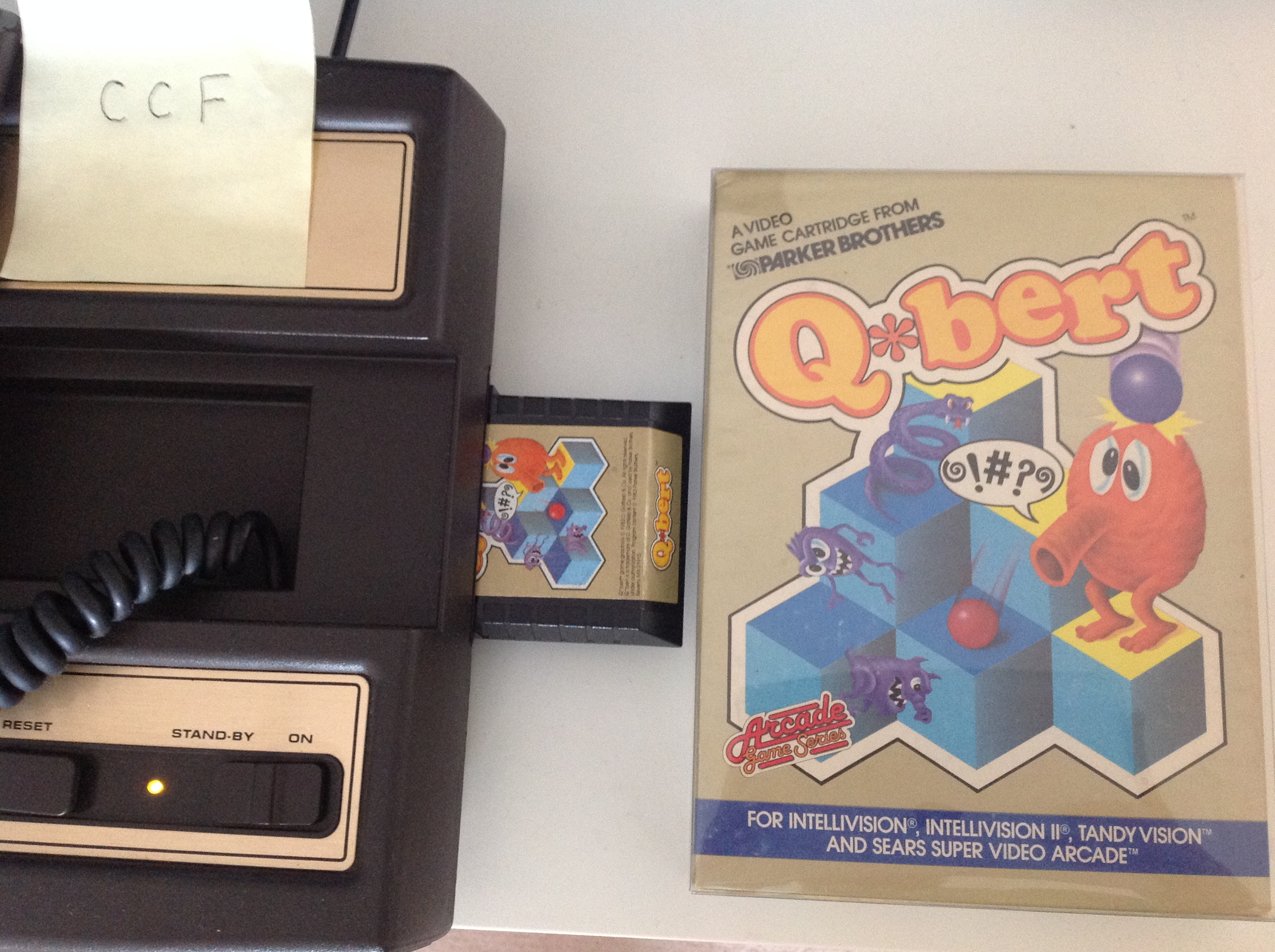 CoCoForest: Q*Bert (Intellivision) 78,430 points on 2018-08-18 03:35:18