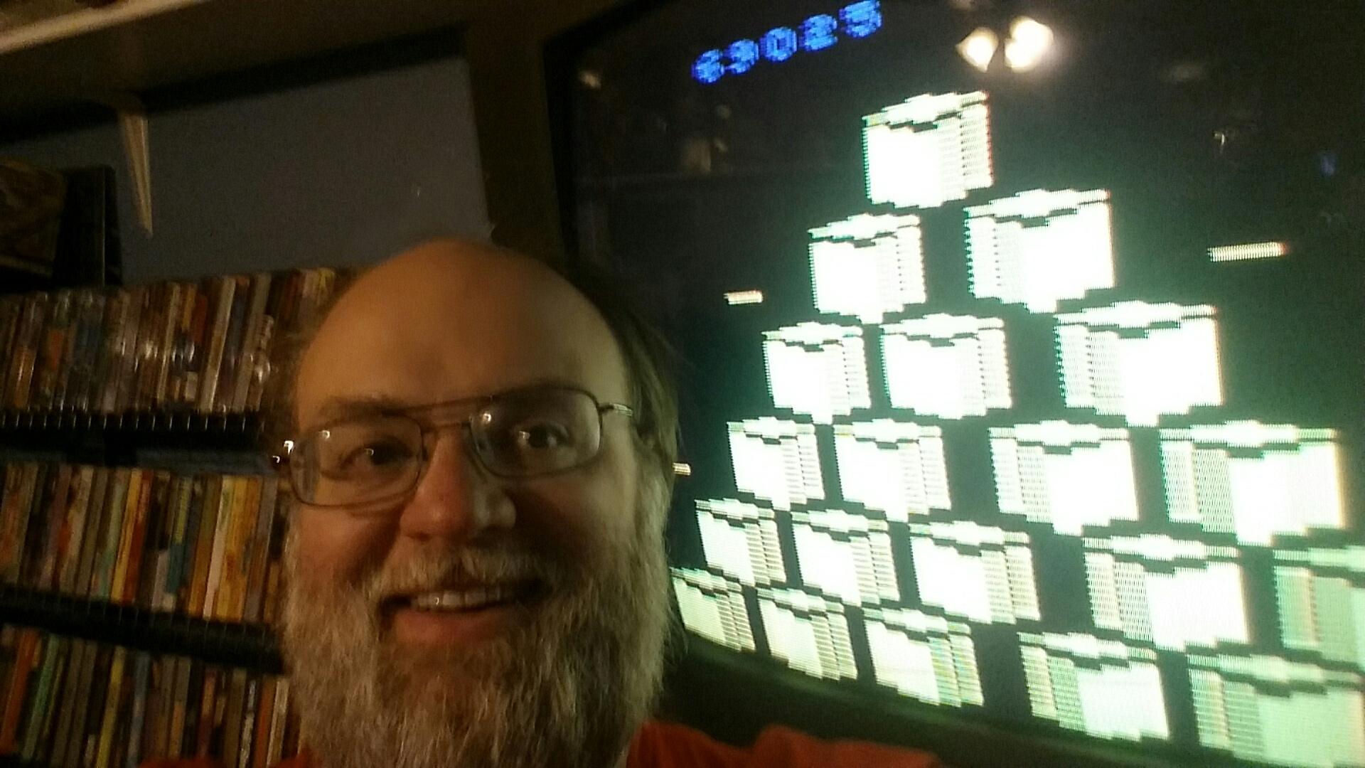 SeanStewart: Q*bert (Atari 2600 Novice/B) 69,025 points on 2016-12-11 22:18:37