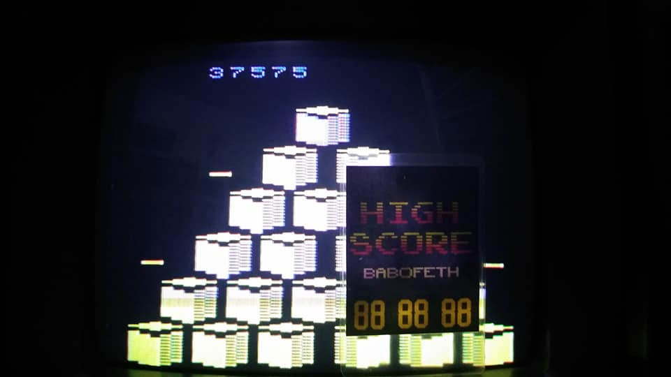 BabofetH: Q*bert (Atari 2600 Novice/B) 137,535 points on 2020-08-31 15:47:08