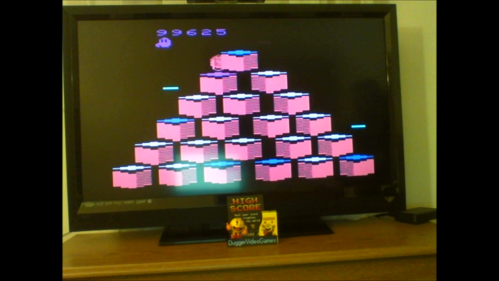 DuggerVideoGames: Q*bert (Atari 2600 Emulated Novice/B Mode) 101,650 points on 2017-01-17 02:11:39