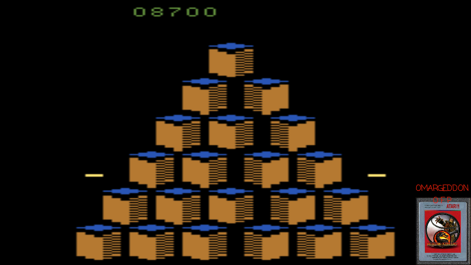 Q*bert 8,700 points