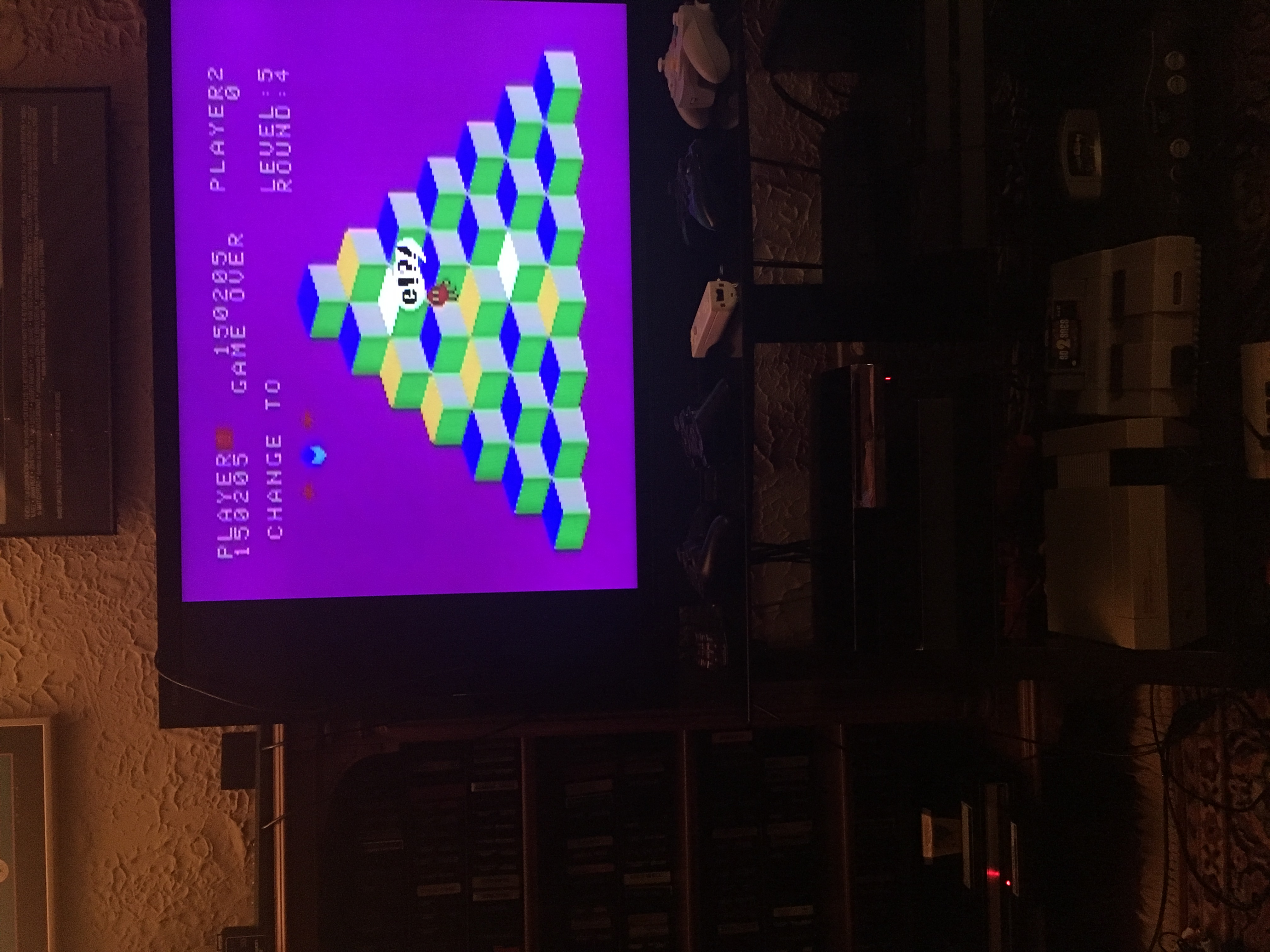 rodge2001: Q*bert (Colecovision) 150,205 points on 2018-04-03 00:54:51