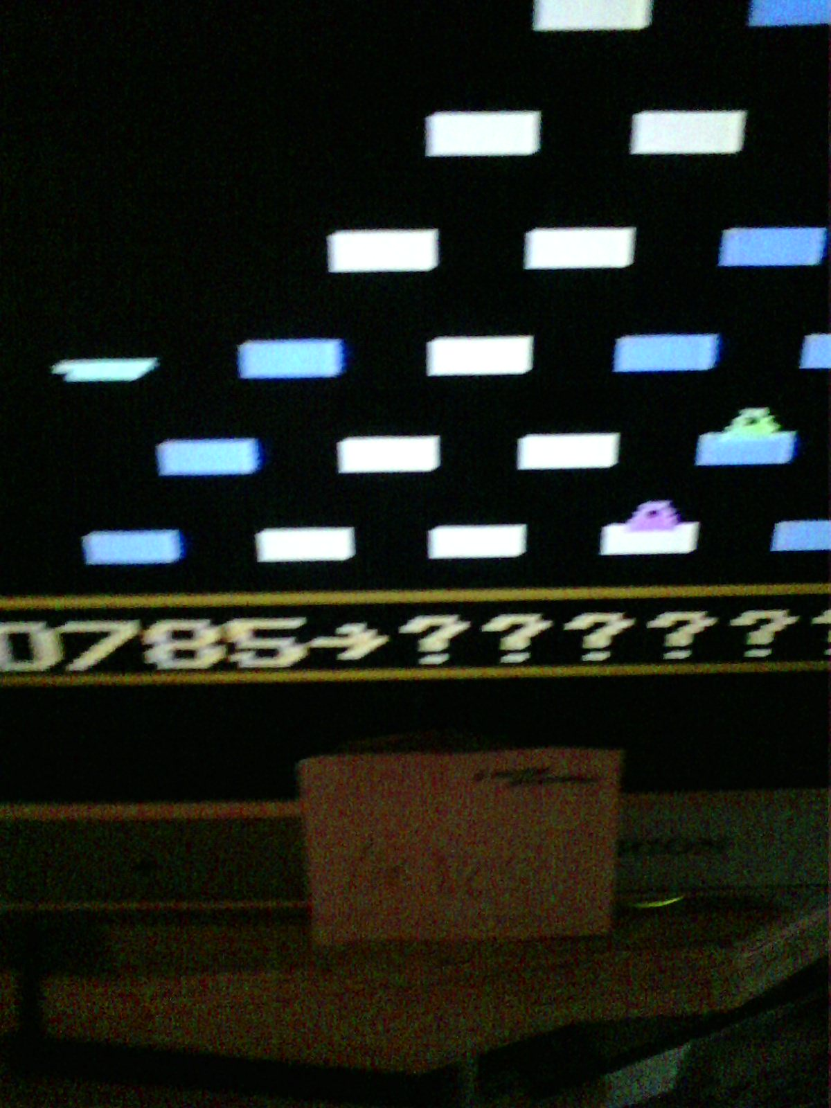 MisterVCS: Q*bert (Odyssey 2 / Videopac) 785 points on 2020-08-13 14:21:31