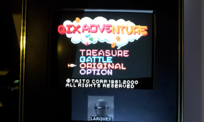 Larquey: Qix Adventure: Original (Game Boy Color Emulated) 133,321 points on 2018-01-20 12:48:58