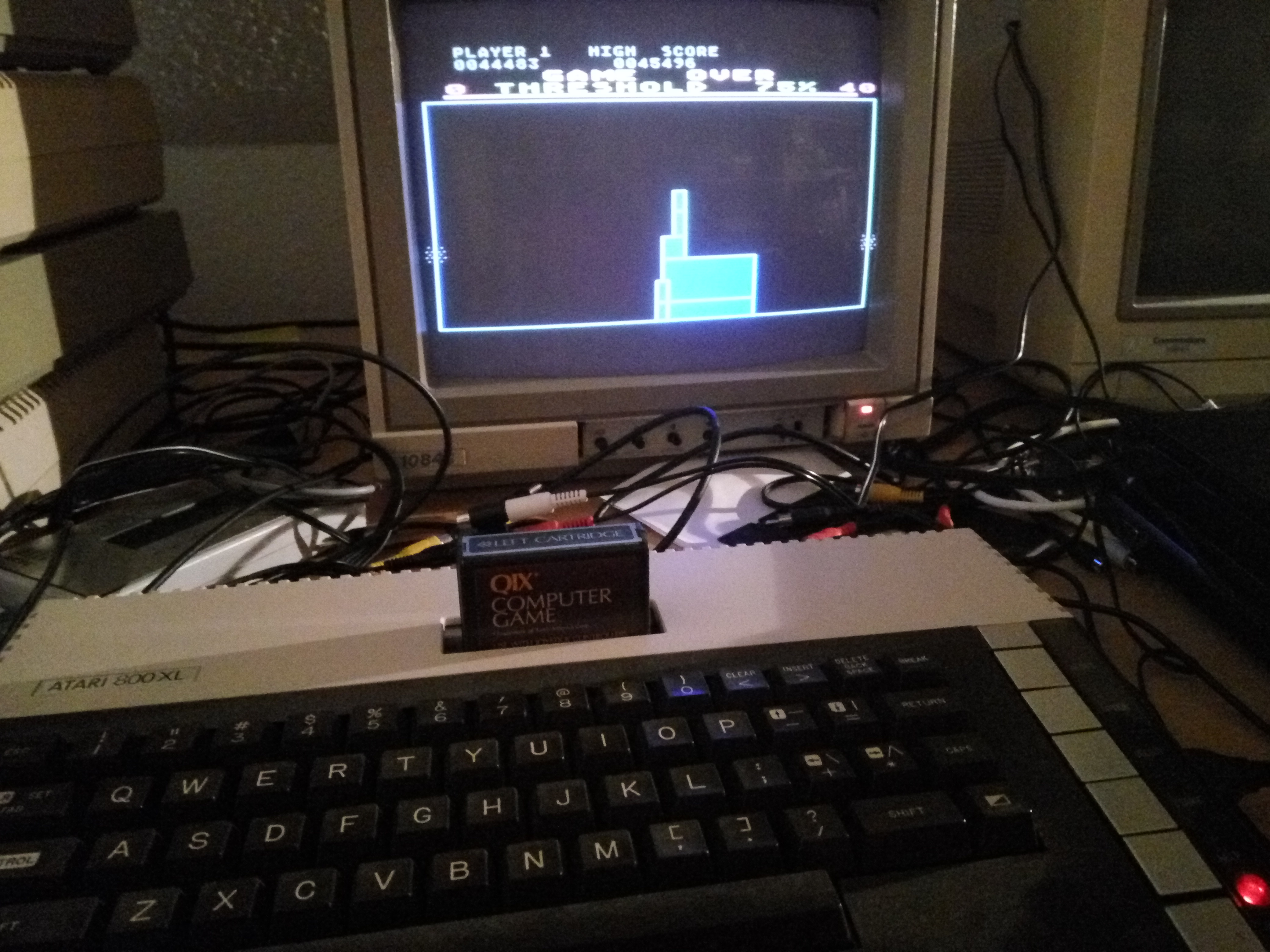 Bunsen: Qix (Atari 400/800/XL/XE) 45,496 points on 2016-09-04 12:18:02