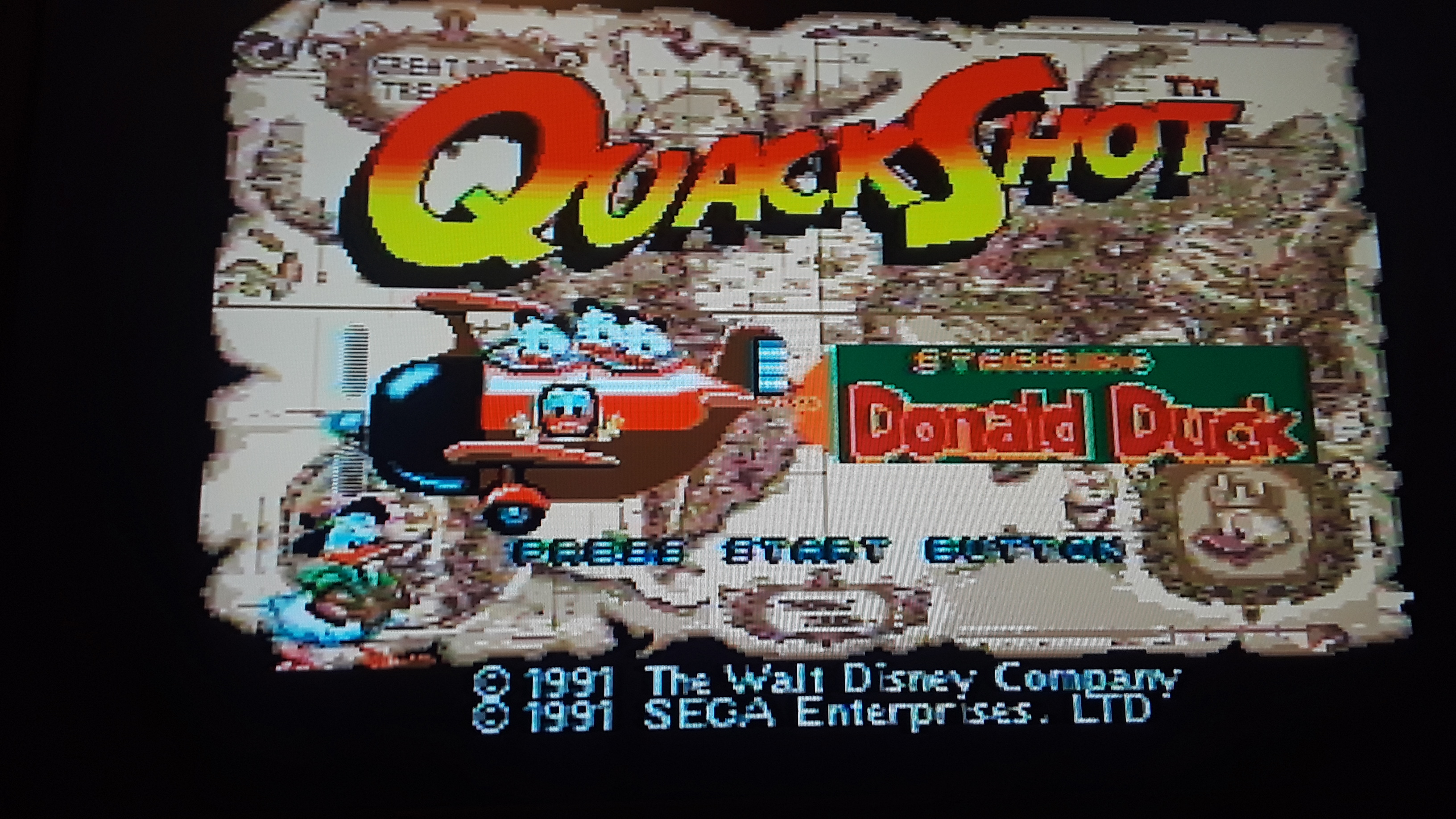 JML101582: Quackshot (Sega Genesis / MegaDrive Emulated) 24,000 points on 2019-10-15 21:11:41