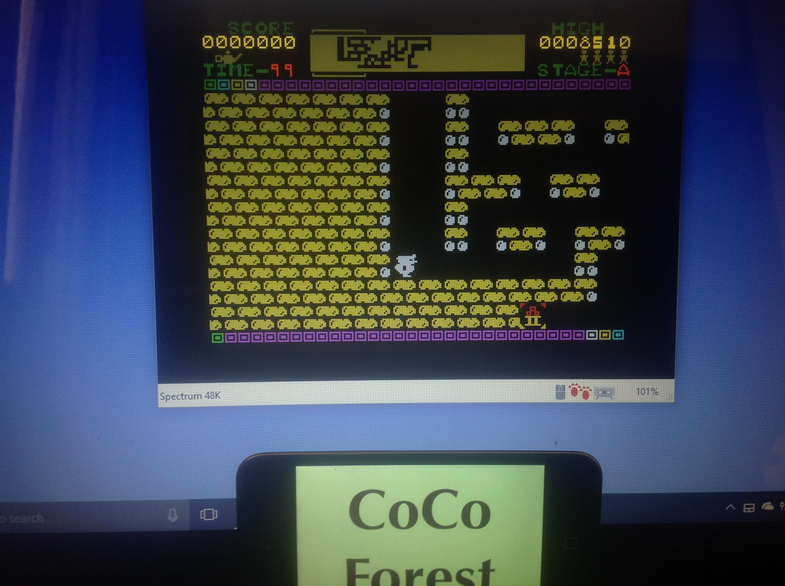 CoCoForest: Quackshot (ZX Spectrum Emulated) 8,510 points on 2018-01-18 05:48:01