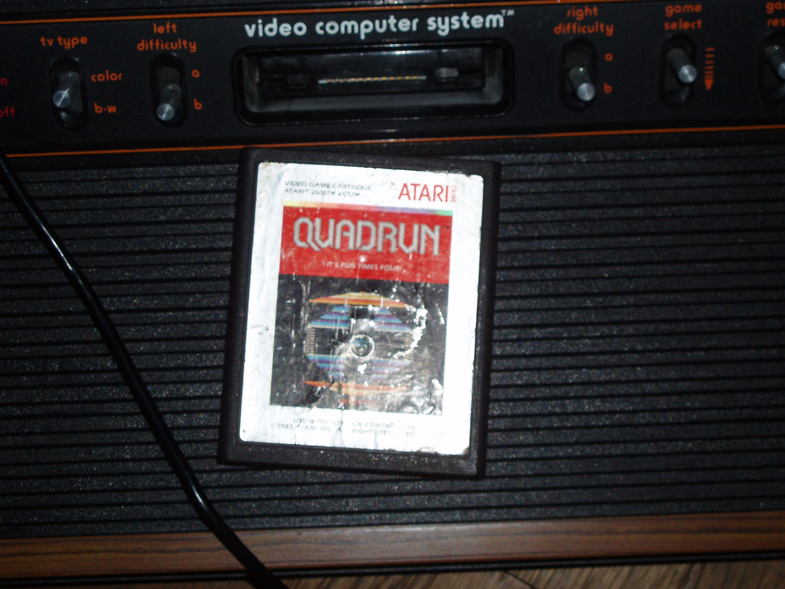 atari2600forever: Quadrun (Atari 2600 Novice/B) 3,000 points on 2019-01-10 03:17:13