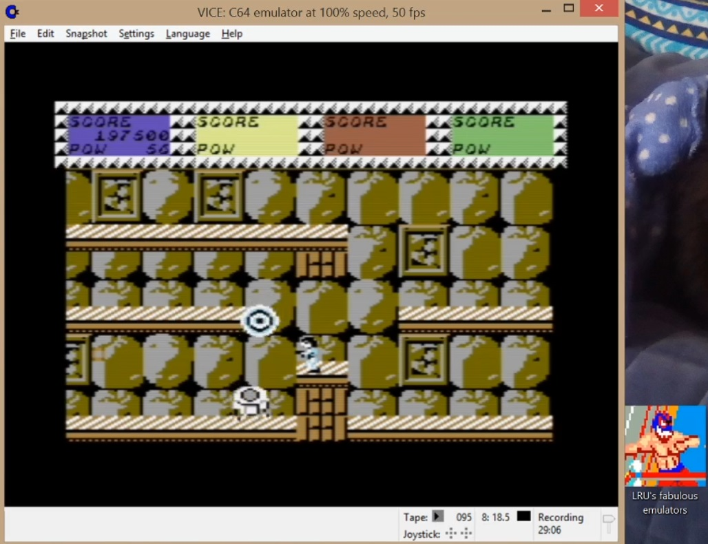 LuigiRuffolo: Quartet (Commodore 64 Emulated) 197,500 points on 2020-07-19 10:05:27