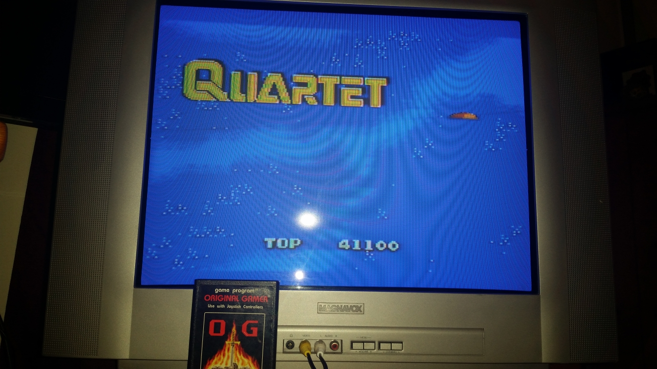 OriginalGamer: Quartet (Sega Master System) 41,100 points on 2016-04-30 15:12:14