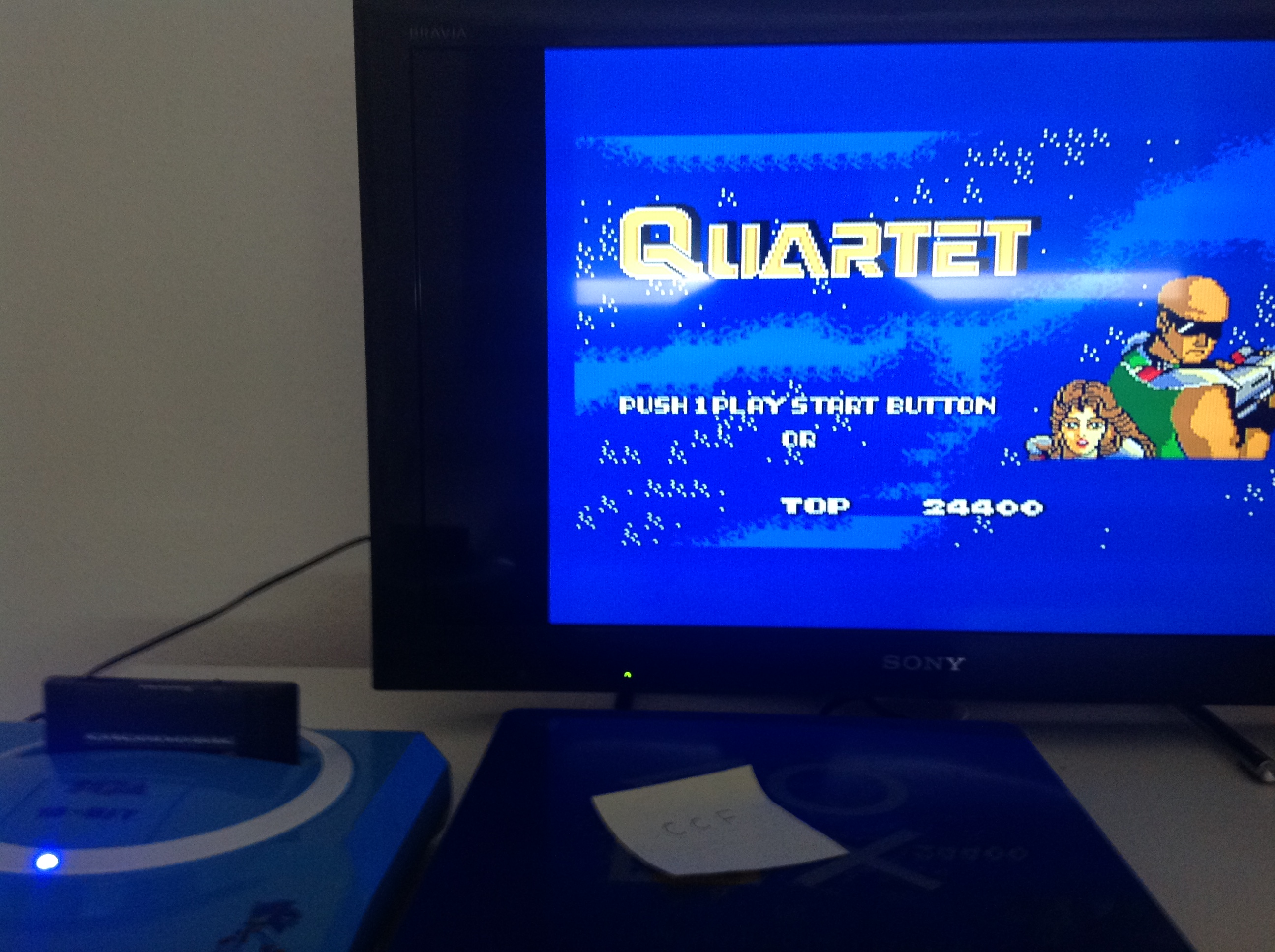CoCoForest: Quartet (Sega Master System) 24,400 points on 2018-07-19 03:15:48