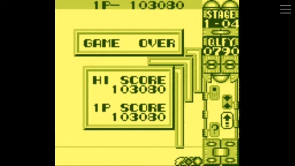 Scorechaserpony: Quarth: Level 1 (Game Boy Emulated) 103,080 points on 2019-08-10 12:58:47