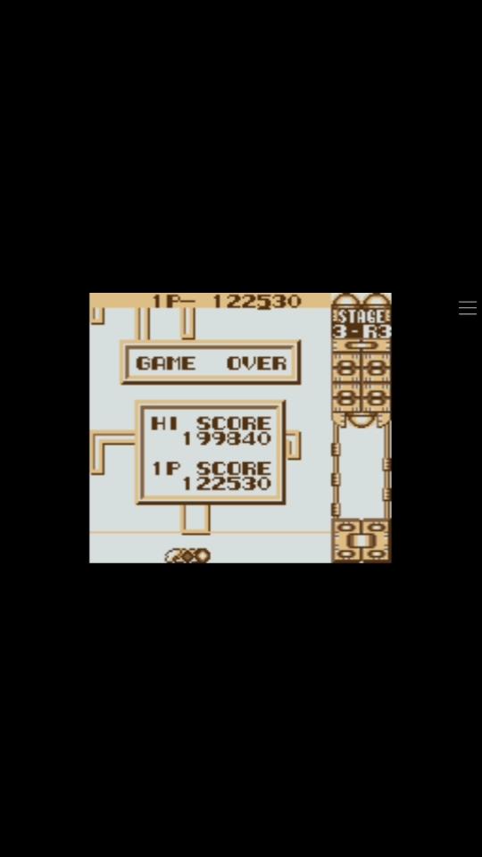 Scorechaserpony: Quarth: Level 1 [Random Mode] (Game Boy Emulated) 122,530 points on 2019-10-21 21:42:57