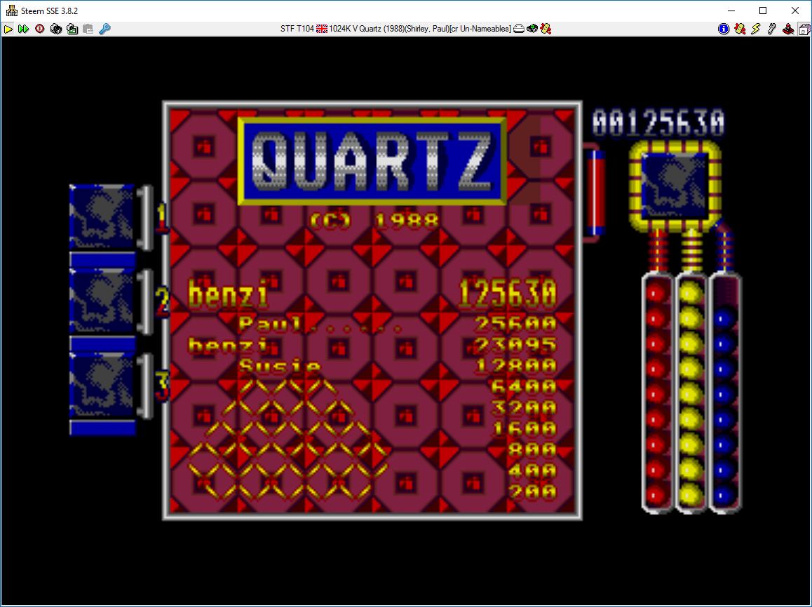 Quartz 125,630 points