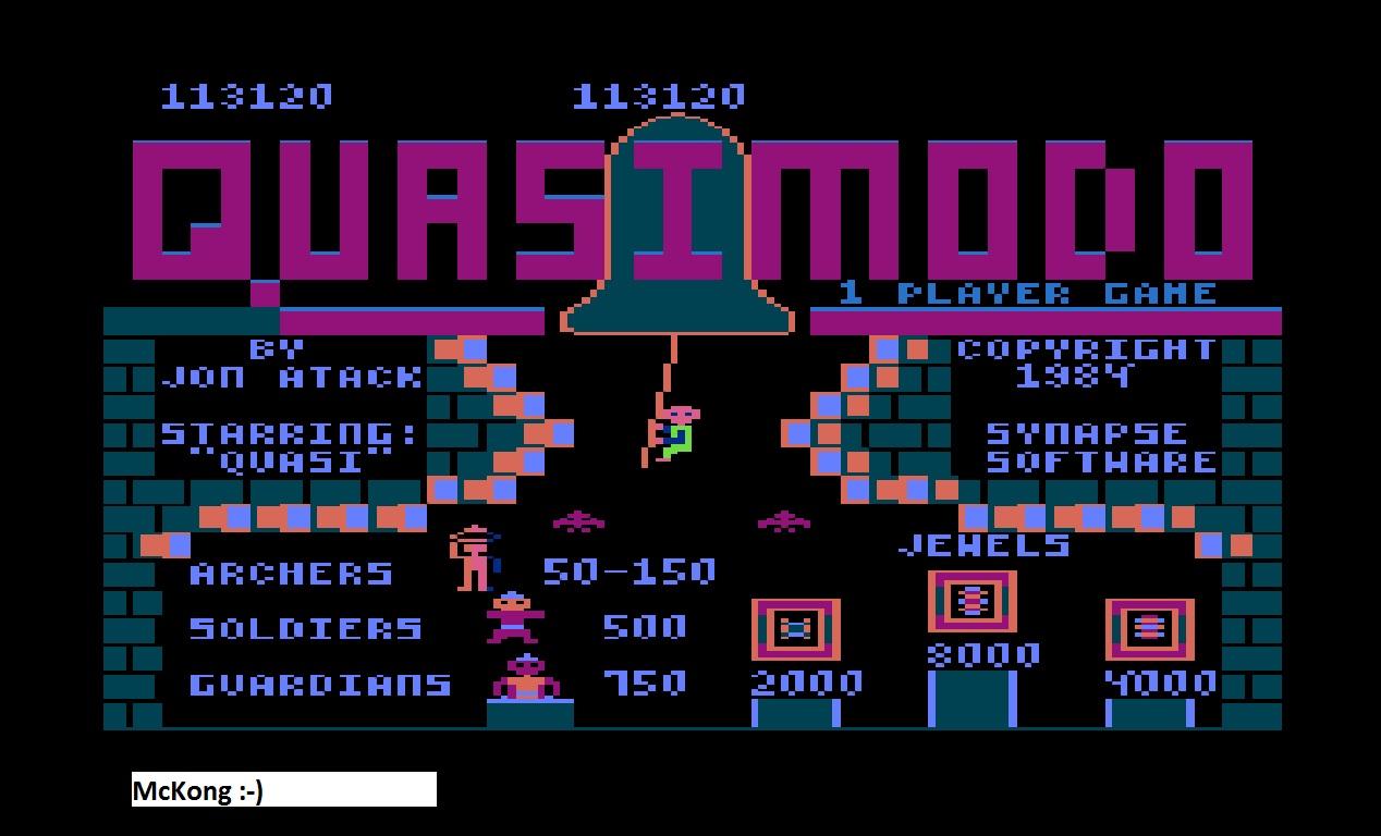Quasimodo 113,120 points