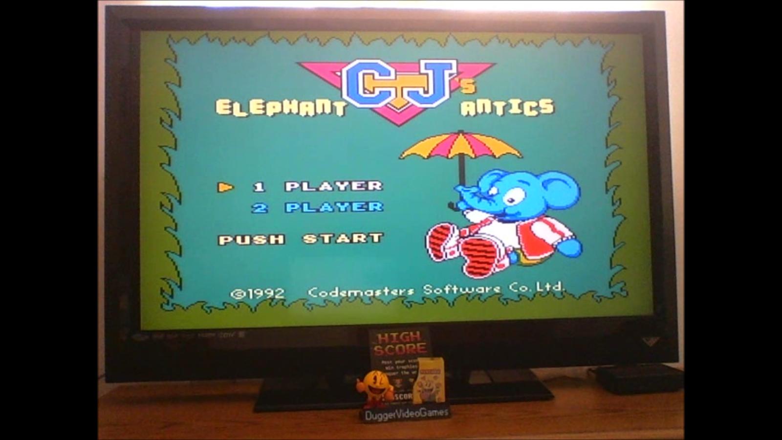 DuggerVideoGames: Quattro Arcade: C.J.