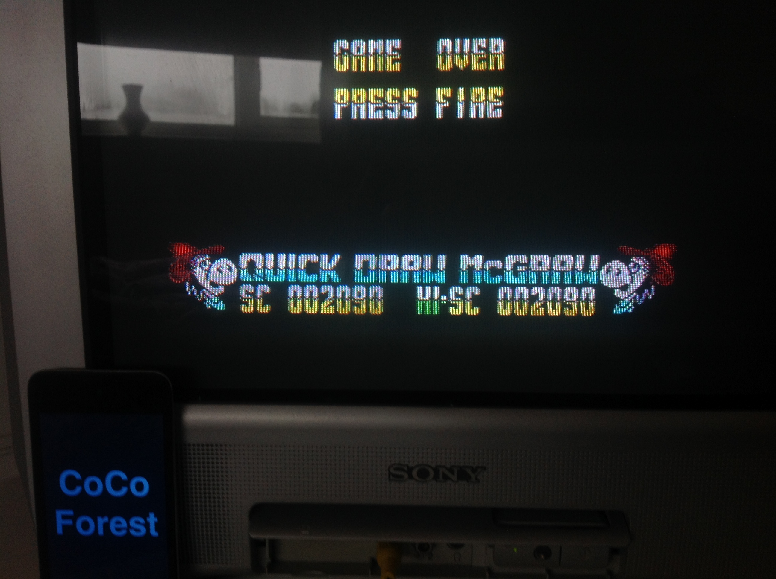 CoCoForest: Quick Draw McGraw (ZX Spectrum) 2,090 points on 2016-01-18 04:51:18