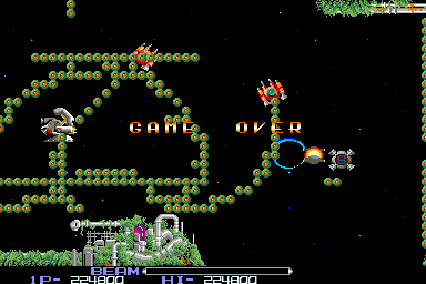 Mantalow: R-Type (Arcade Emulated / M.A.M.E.) 224,800 points on 2015-09-28 06:04:20