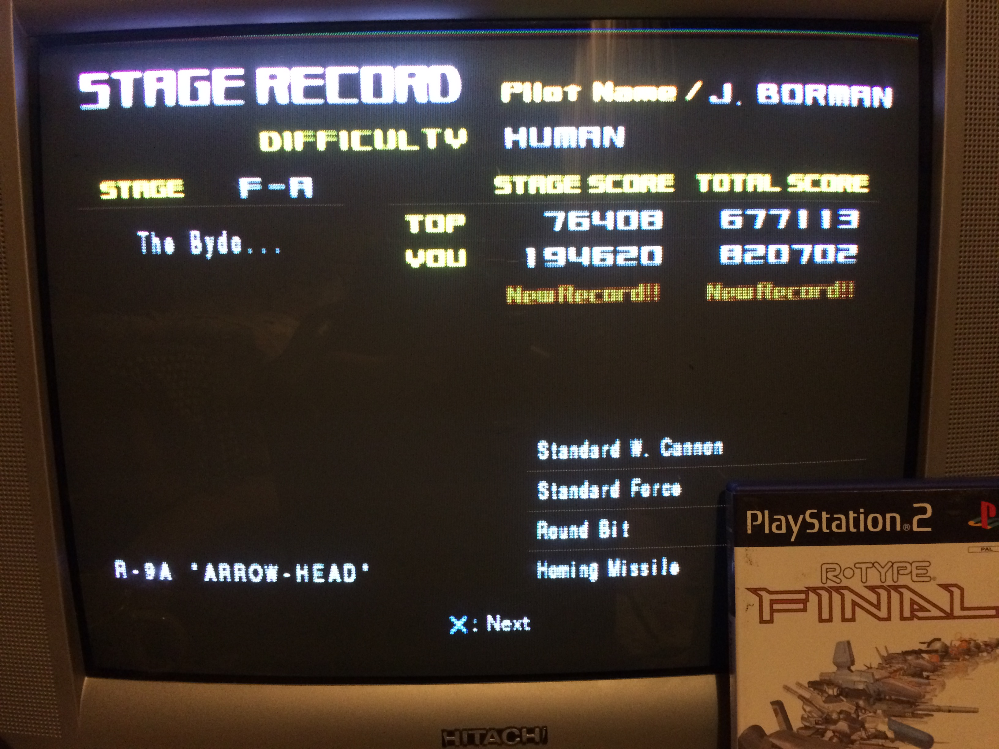 R-Type Final [Human] 820,702 points