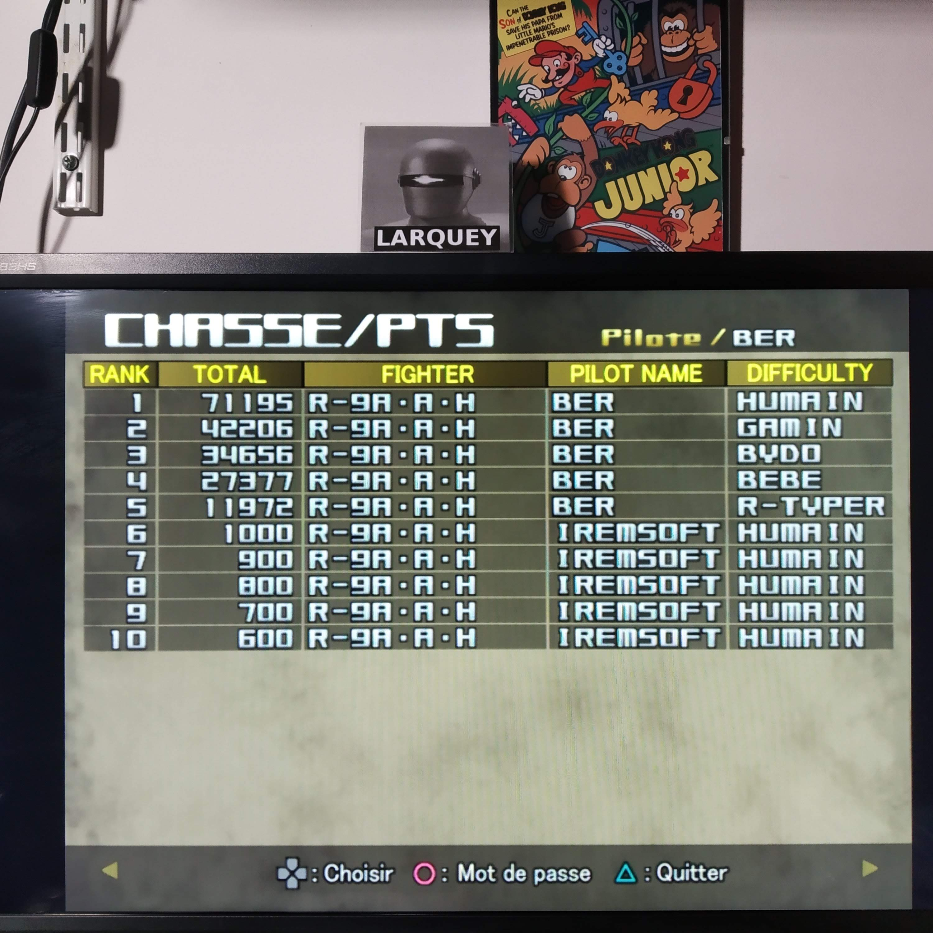 Larquey: R-Type Final [R-Typer] (Playstation 2 Emulated) 11,972 points on 2020-08-11 15:26:33